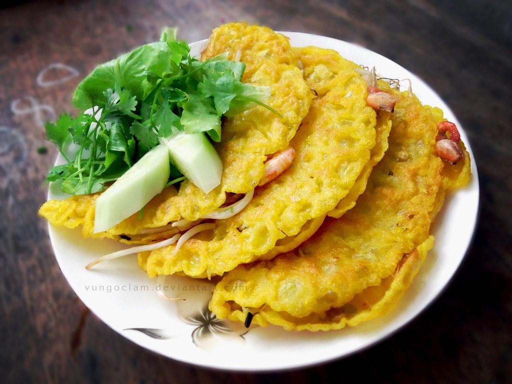 Da Nang Home Cooking Class, danang cooking class, cooking class, danang, vietnam, pancake, banh xeo, 来同奈应该做些什么呢