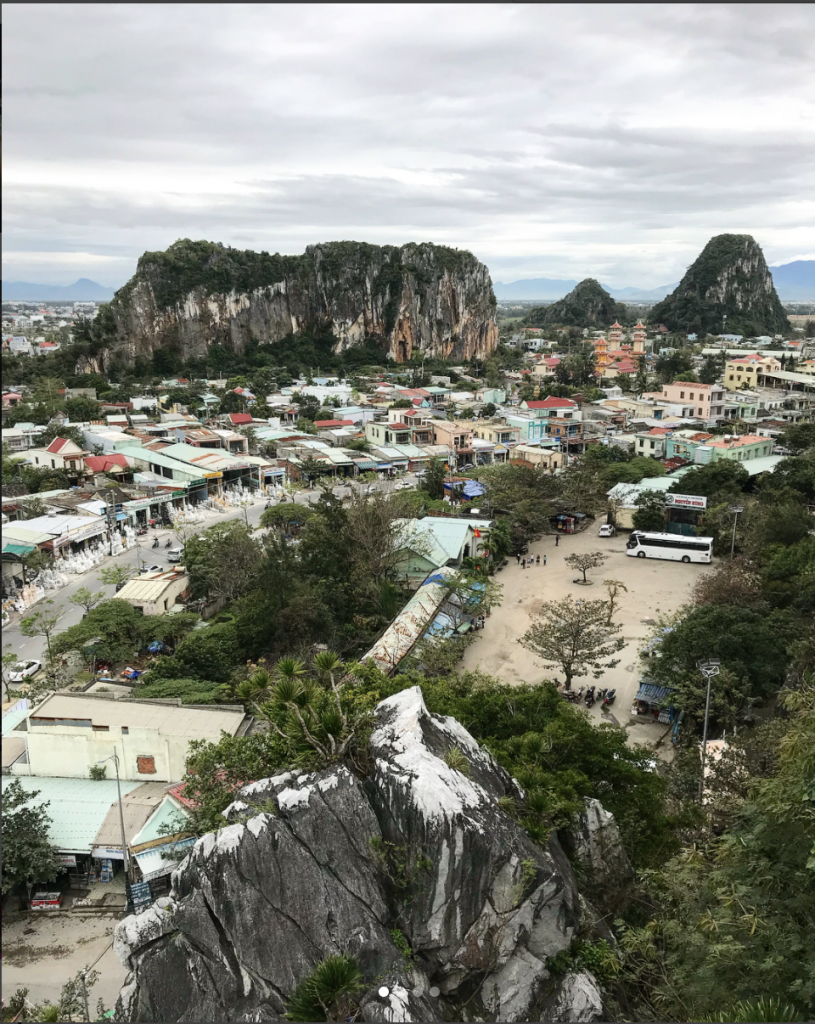 Marble Mountain from Da Nang